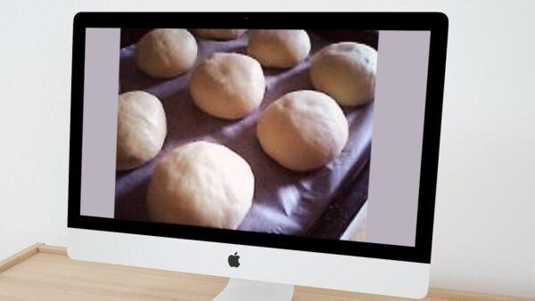手作り白パン